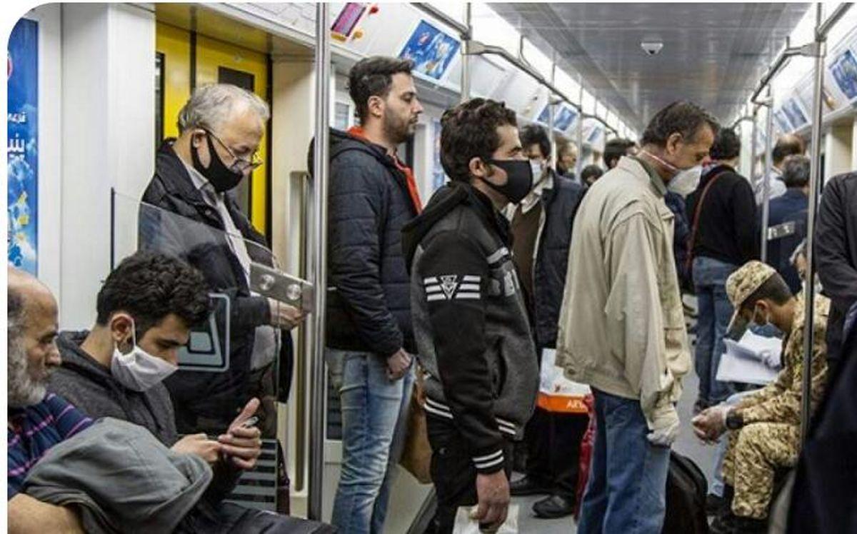 افزایش ۱۰ درصدی مسافران مترو