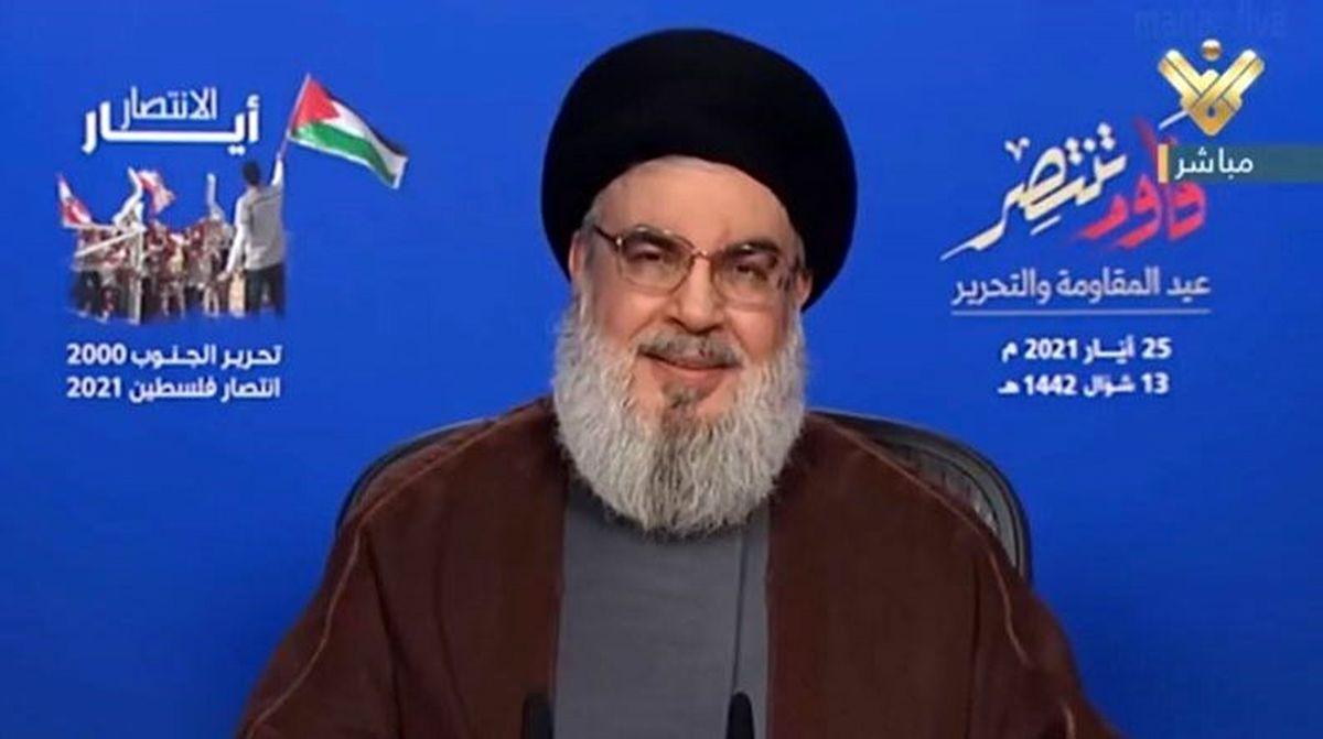 سید حسین نصرالله: فکر می کردند واکنش مقاومت به یهودی سازی فقط در حد بیانیه است
