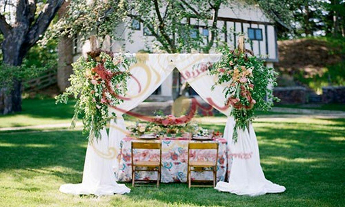 ویژگیهای برگزاری انواع مراسم ها در باغ در فصول گرم چیست؟