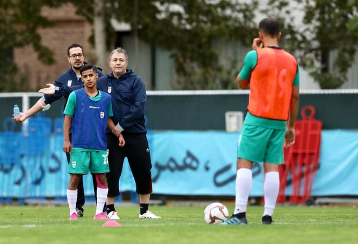 شبیه سازی بازی در بحرین برای تیم ملی فوتبال ایران