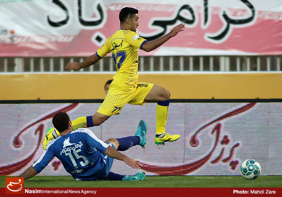 فیلم:: نفت تهران با گل به خودی عمرانزاده پیش افتاد