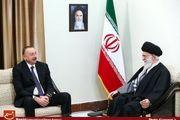 دیدار رئیس جمهور آذربایجان با رهبر معظم انقلاب