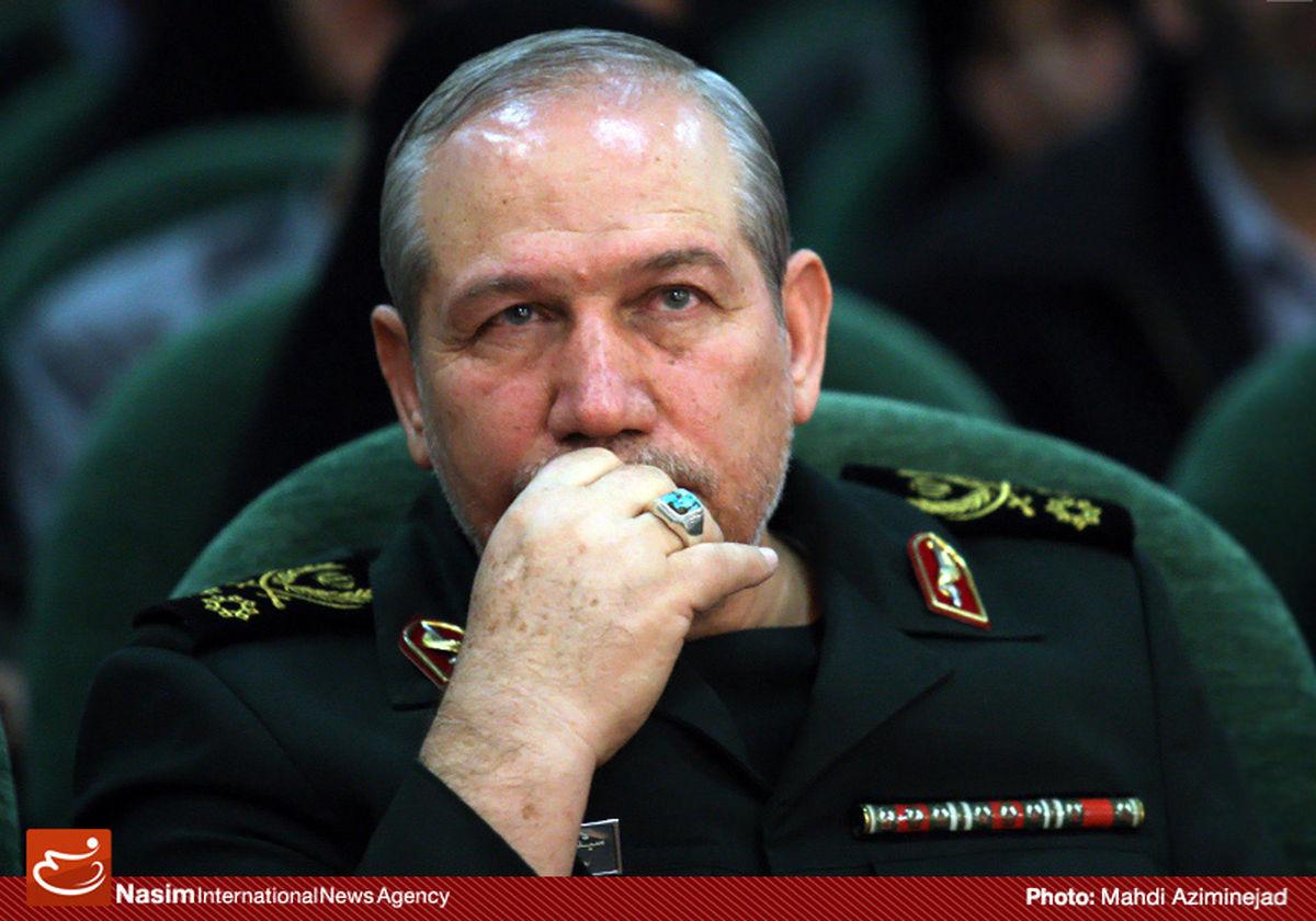 سرلشکر صفوی درگذشت همسر فرمانده کل ارتش را تسلیت گفت