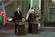 بهرهبرداری آزمایشی از خط آهن آستارا – آستارا با ورود قطار آذربایجان به ایستگاه آستارا در ایران