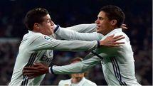 رئال مادرید با برتری دشوار مقابل والنسیا موقتا صدرنشین شد