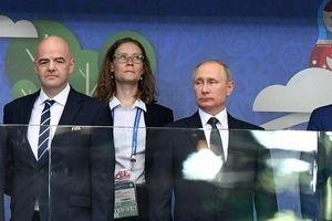 پوتین: فوتبال عامل اتحاد ملتها است/ اینفانتینو: تحت تاثیر روسها قرار گرفتم