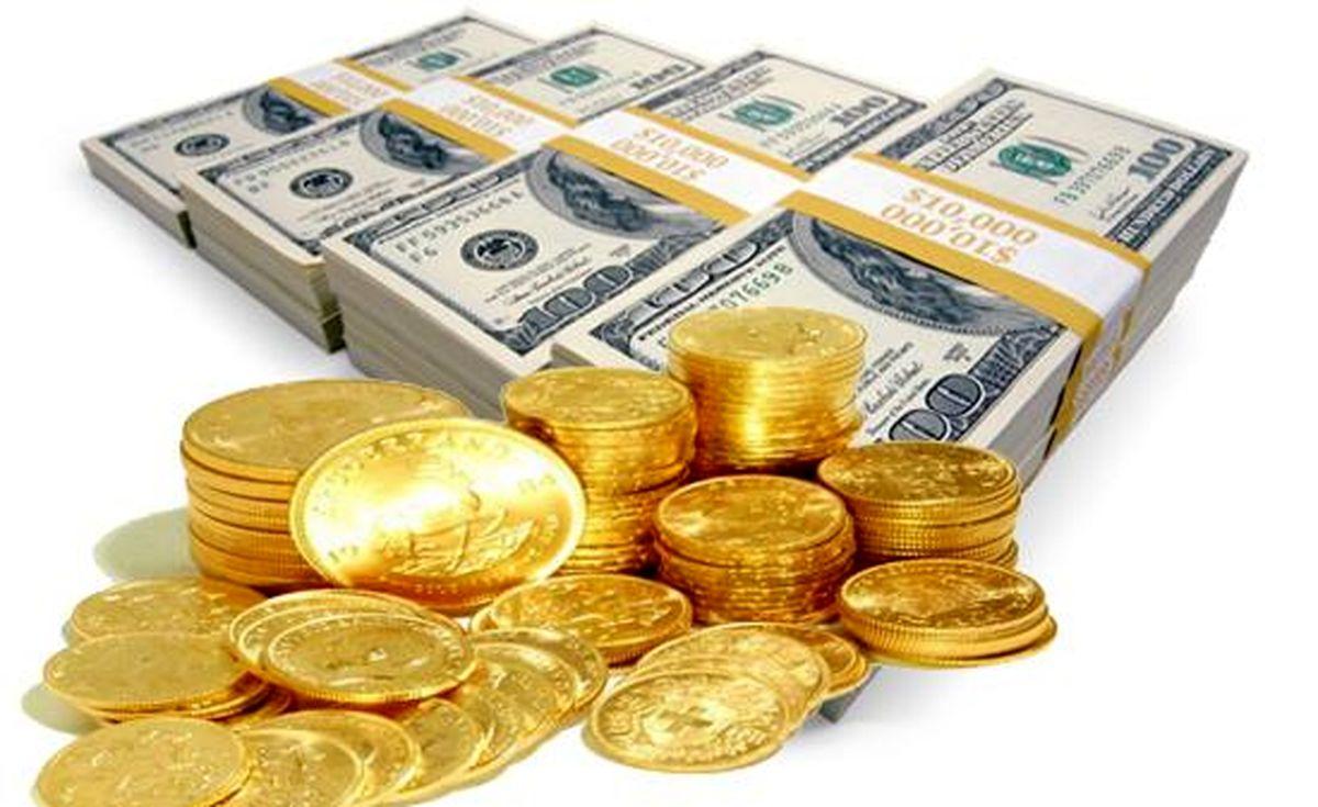 روند قیمت فلز زرد و پول رایج آمریکا صعودی شد