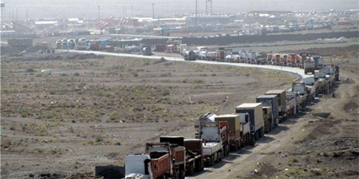 ۳ هزار کامیون حامل تجهیزات موکبها پشت مرز مهران