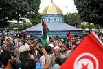 پیروز انتخابات تونس: پرچم فلسطین همیشه در کنار پرچم تونس خواهد بود