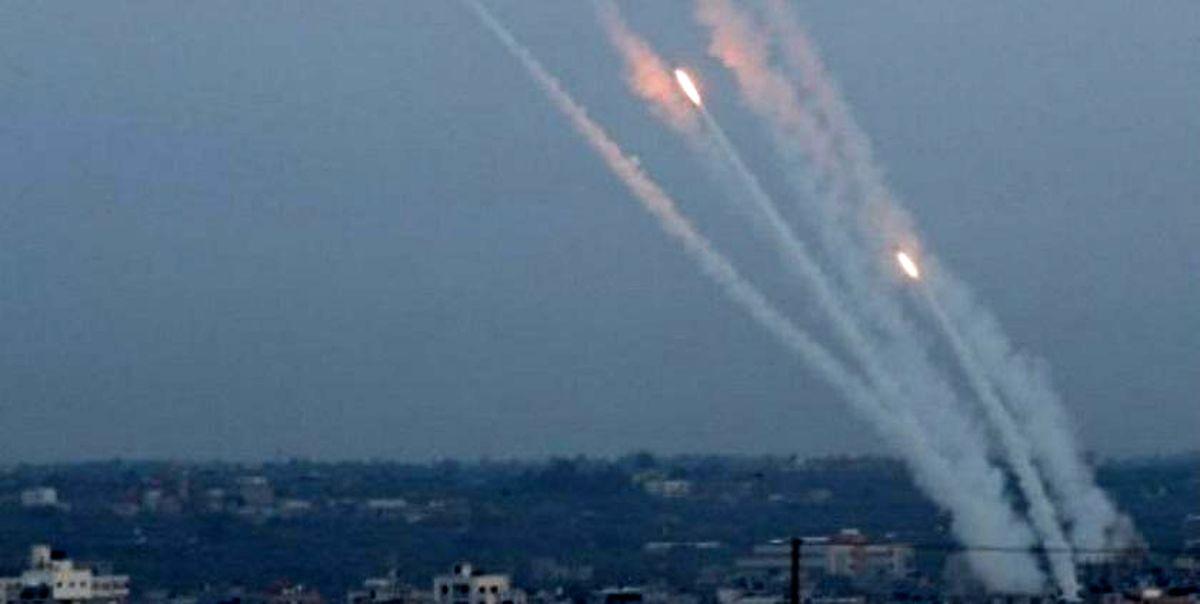 شلیک ۱۹۰ موشک از غزه به سرزمینهای اشغالی