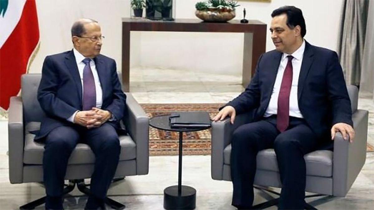 کابینه جدید لبنان معرفی شد
