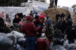 سرگردانی بیش از ۱۳ هزار نفر در مرز ترکیه و یونان