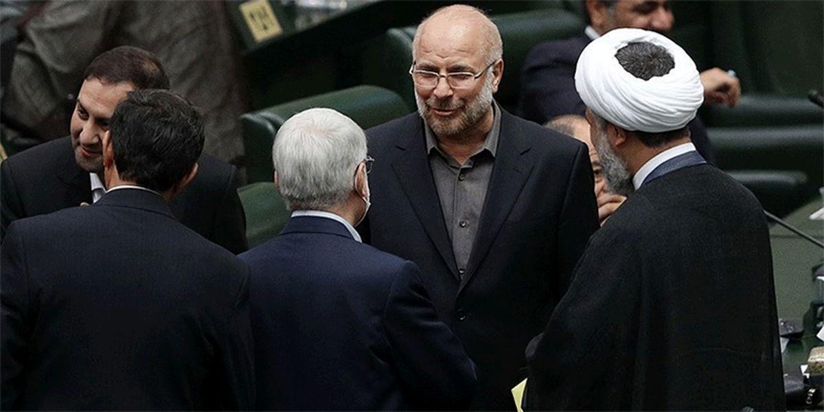رئیس مجلس شورای اسلامی به علی لاریجانی پیام داد