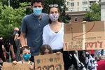 تظاهرات علیه نتانیاهو در نیویورک