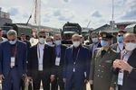 وزیر دفاع در نمایشگاه نظامی - فنی روسیه