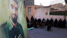 تصاویر: عزاداری در کوچه شهید حججی
