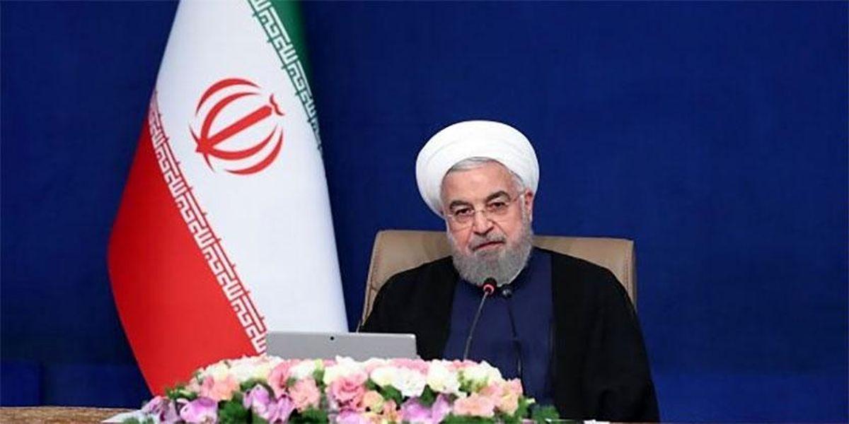 روحانی: دولت در تلاش است چرخه تولید در کشور متوقف نشود