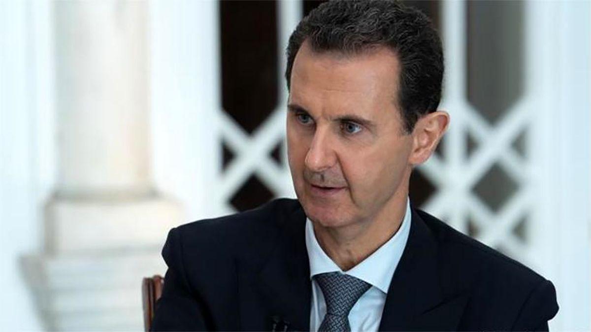 بشار اسد: سوریه درباره ثبات داخلی خود مذاکره نمیکند
