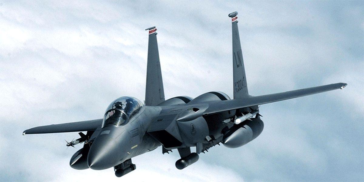 استقرار جنگندههای آمریکا در پایگاه هوایی عربستان