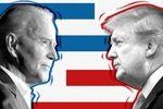 عکس: آخرین وضعیت رقابت بین ترامپ و بایدن