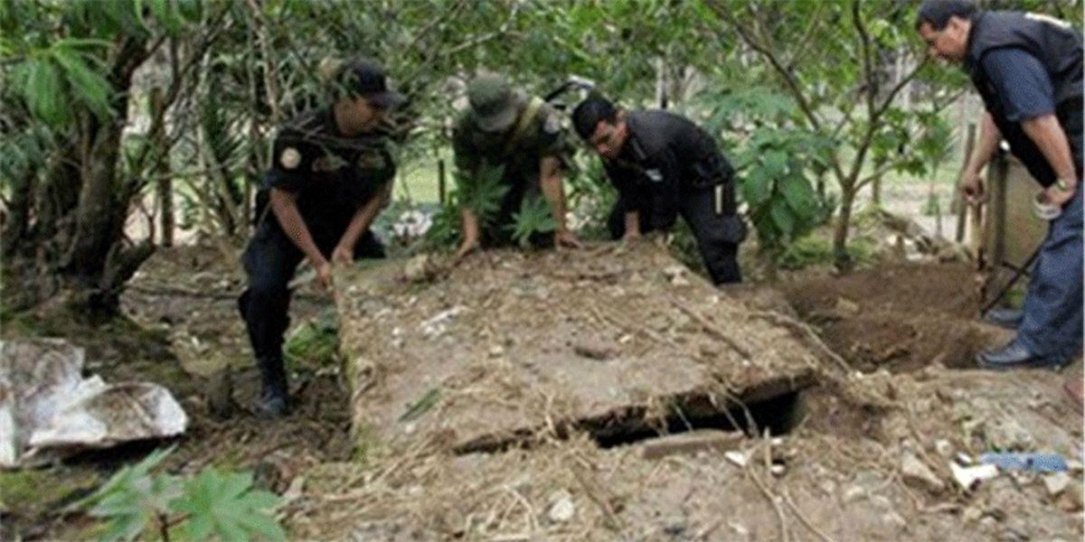 کشف گوردسته جمعی در مکزیک