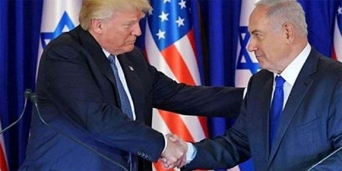 صهیونیستها دستان ترامپ را میفشارند
