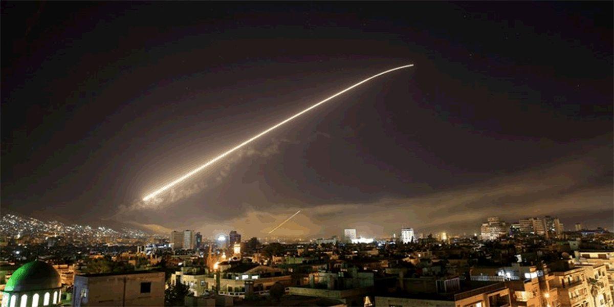 شب ناآرام آسمان دمشق