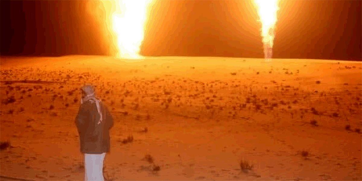 داعش لوله گاز مصر و اراضی اشغالی را منفجر کرد