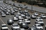 افزایش تردد در جادههای کشور