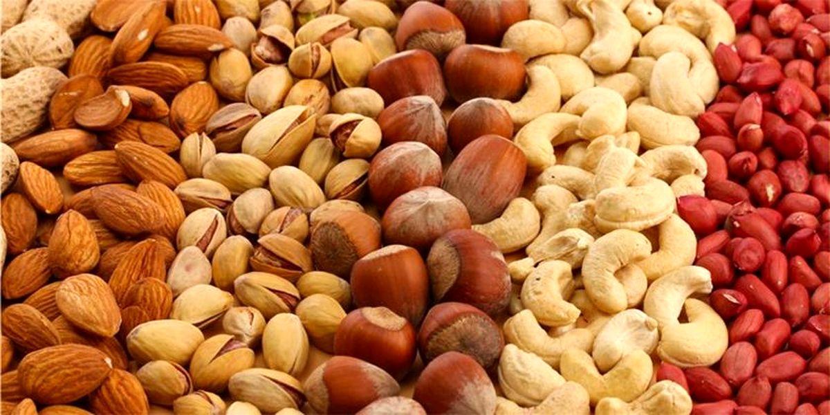 قیمت انواع آجیل «شب یلدا» در میادین میوه و تره بار