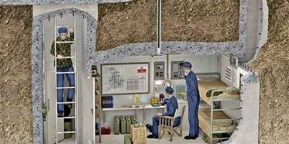 حراج پناهگاه هستهای به ارزش ۵۰ هزار پوند