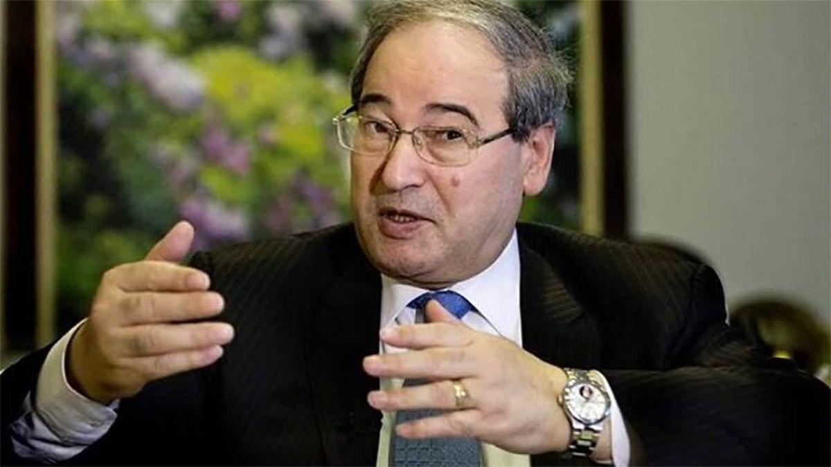 تمجید فیصل مقداد از روابط دمشق با تهران و مسکو