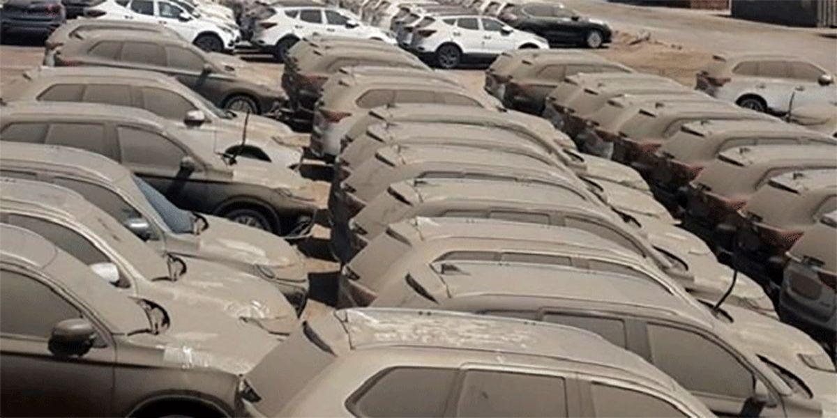 ترخیص ۹ هزار خودروی دپوشده در گمرکات