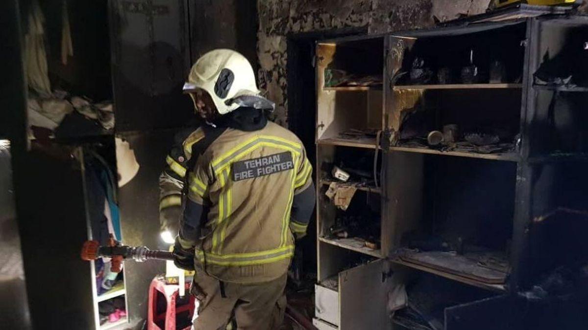 آتشسوزی در شیرخوارگاه آمنه تهران