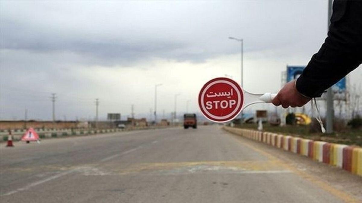 ممنوعیت تردد جادهای به شهرهای خوزستان