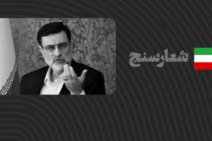 شعارسنج/ ارزیابی عملکرد امیرحسین قاضیزاده هاشمی در پیگیری مسائل مردم