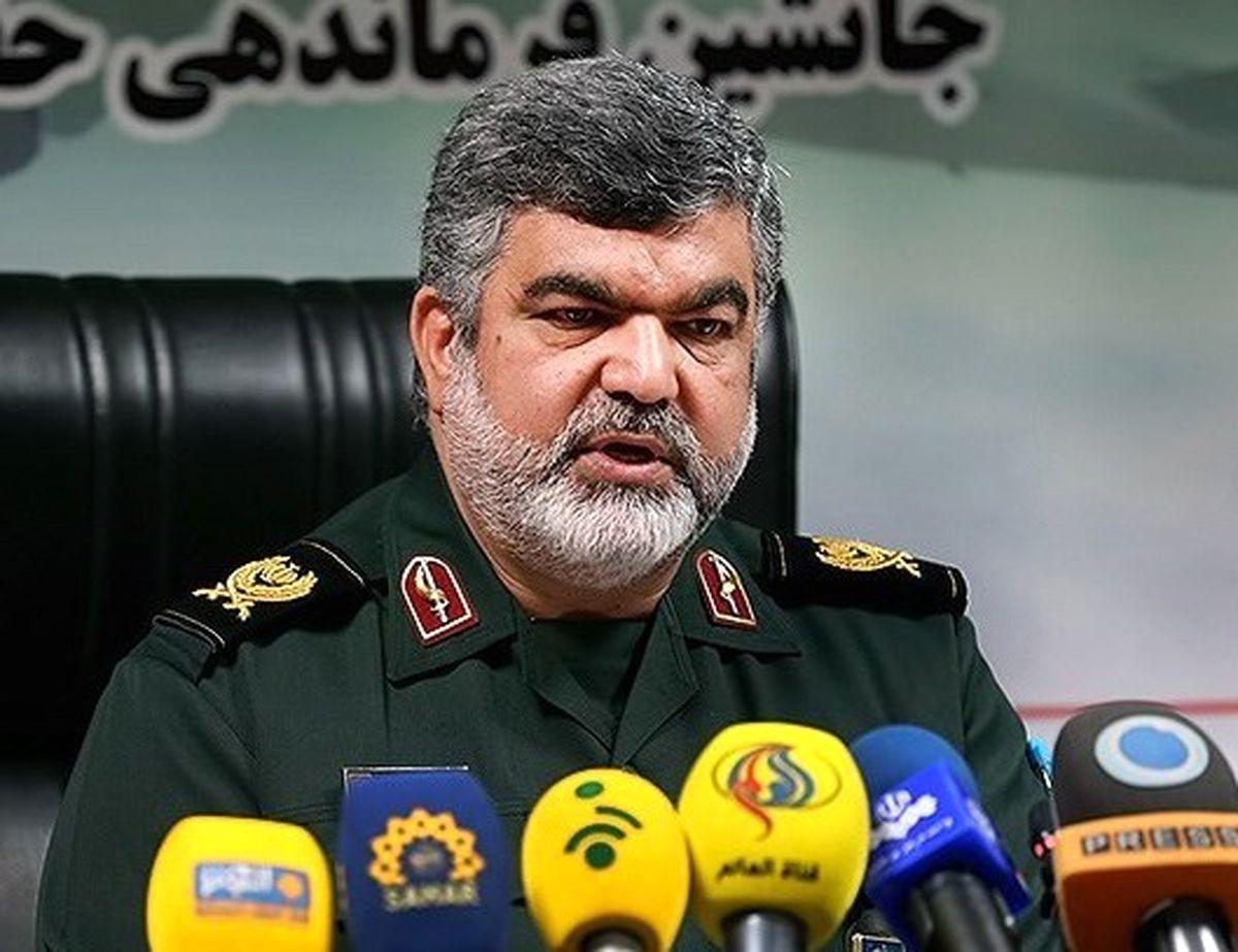 سردار کاظمی: سپاه در عرصه تامین امنیت پرواز، اراده تهاجم را از دشمن سلب کرد