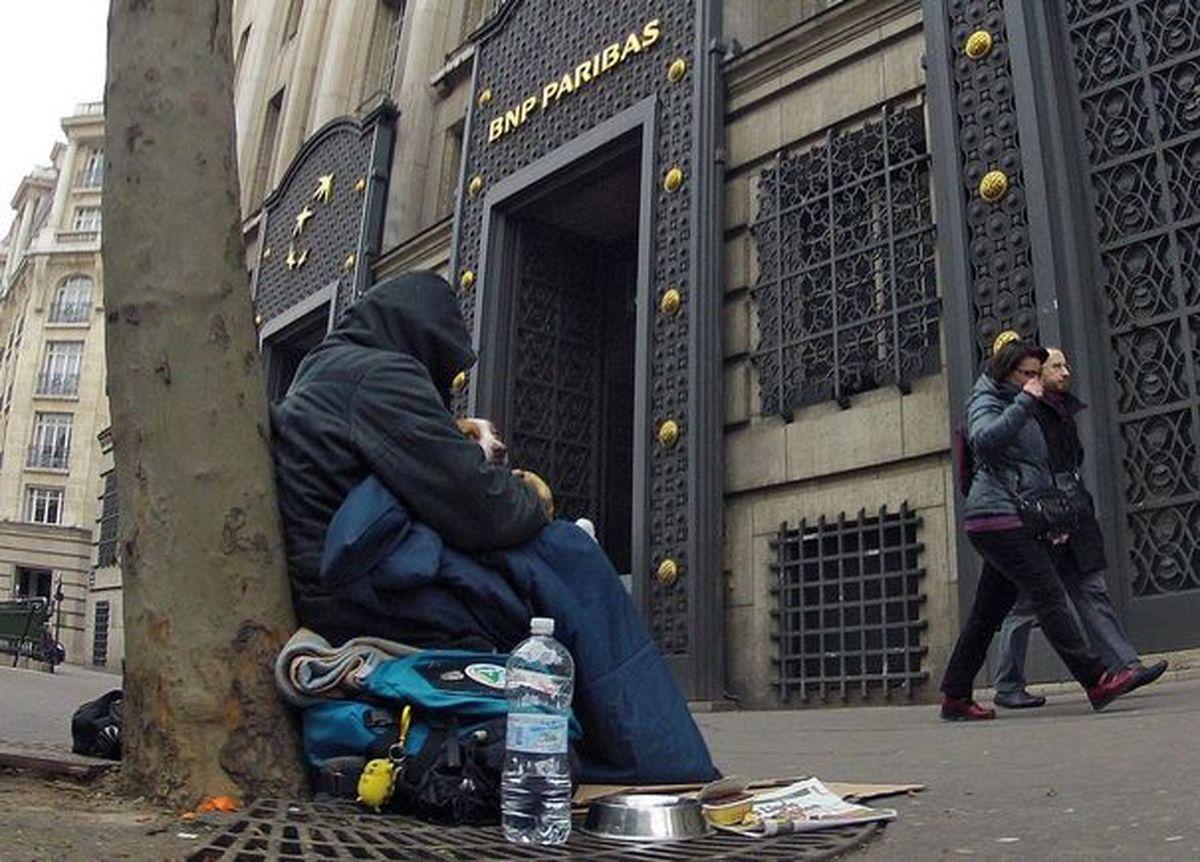 فیلم: صف گرسنگان در فرانسه!