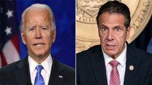تغییر لحن بایدن دربرابر اتهامات جنسی فرماندار آمریکایی