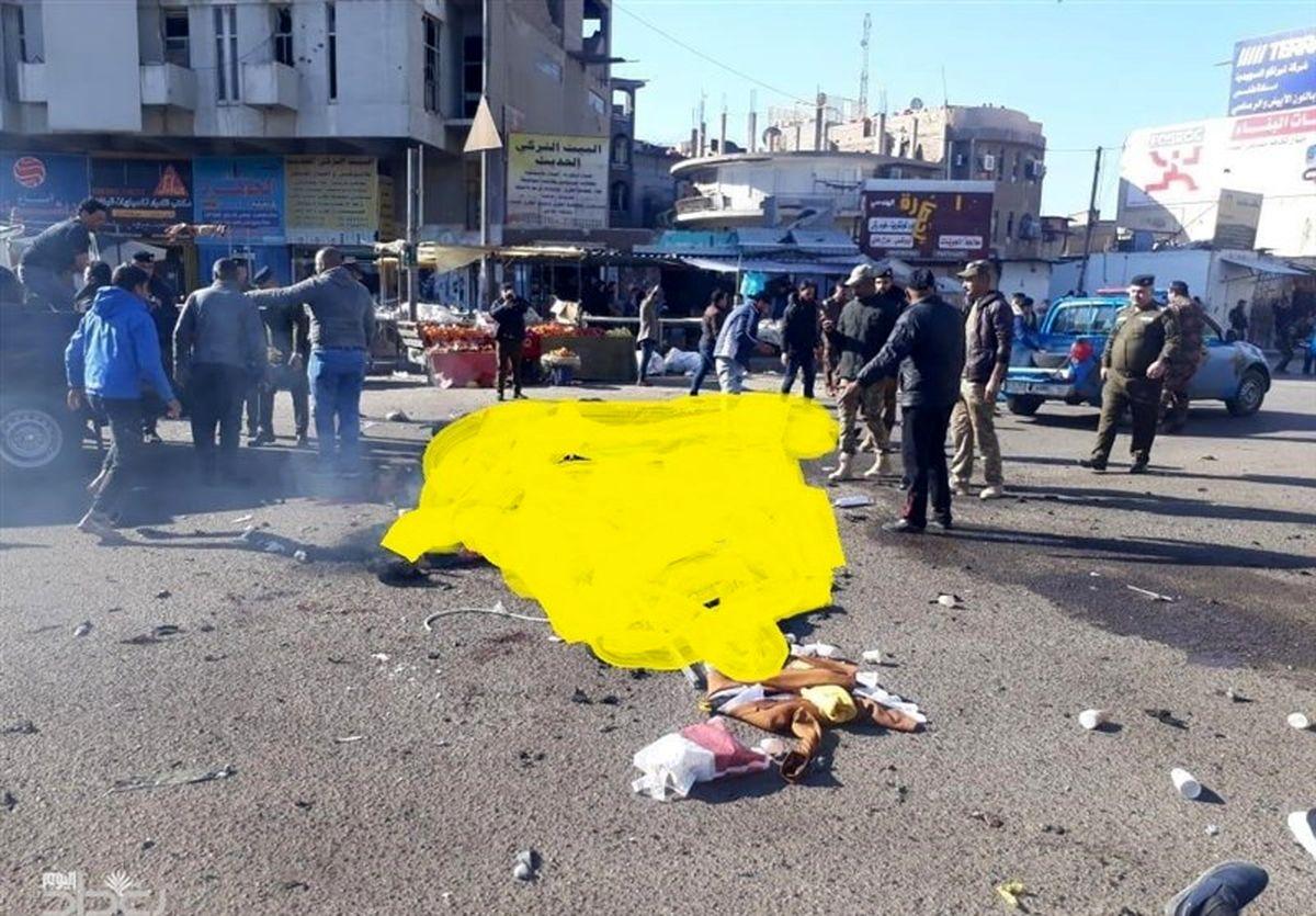 بیش از ۱۰۰ کشته و زخمی در دو انفجار تروریستی در بغداد