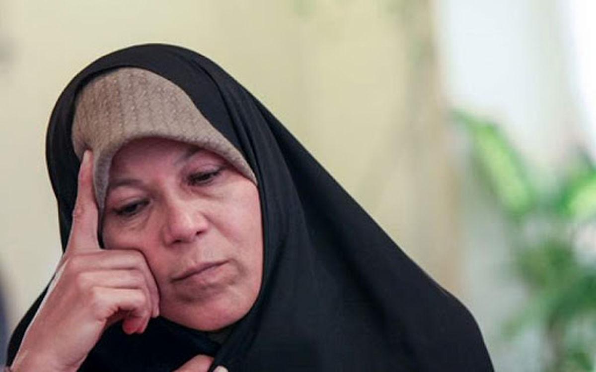 فائزه هاشمی: به محسن گفتم کاندیدای ریاست جمهوری نشود